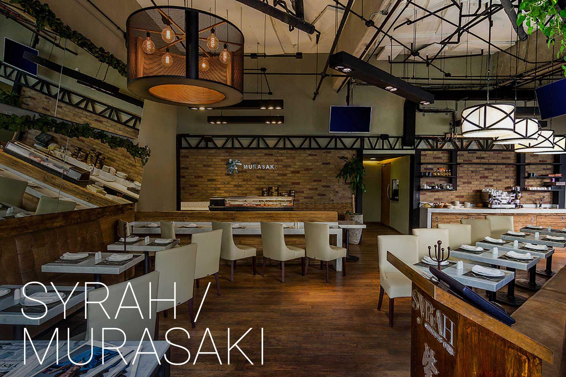 Restaurante de comida Asiática y Mediterránea ubicados en el centro comercial Antara Polanco, su decoración y diseño fueron llevados a cabo por el despacho de arquitectura de interiores Depa 102