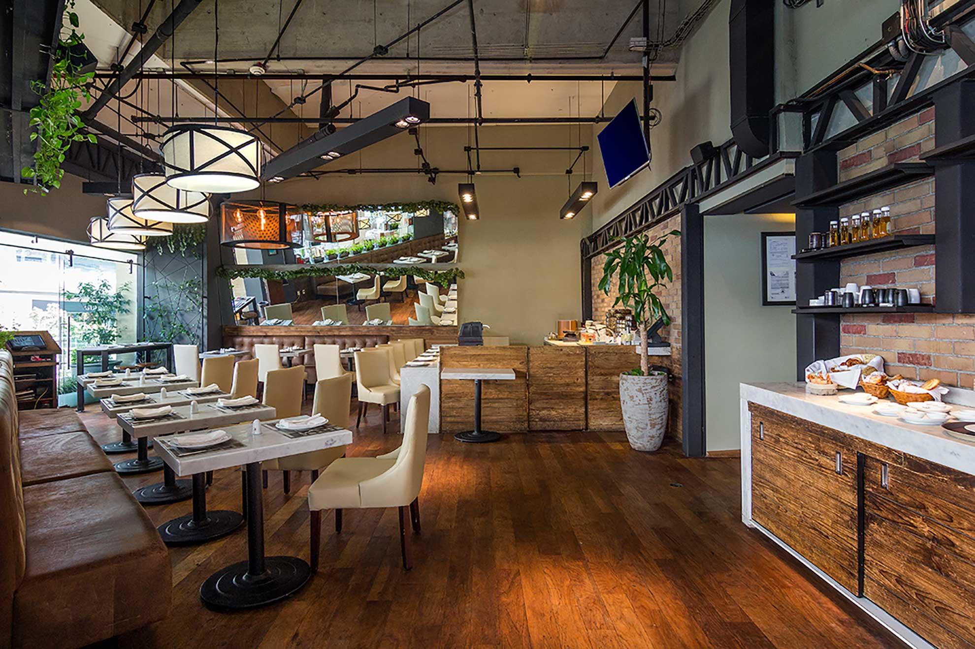 Dos restaurantes con una fusión de espacios ubicados en Antara Polanco, diseñados por Depa 102