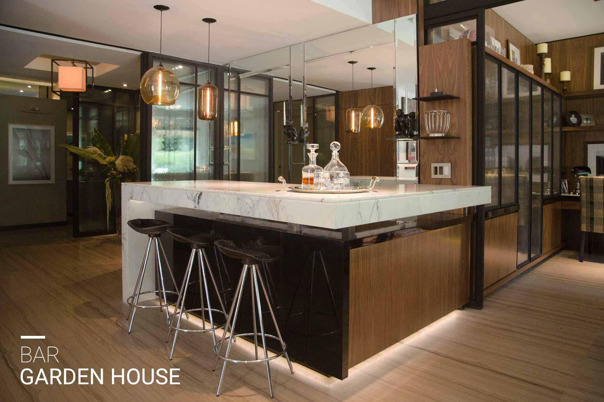 Bar Garden House, espacio diseñado y creado por el despacho arquitectónico de interiores Depa 102