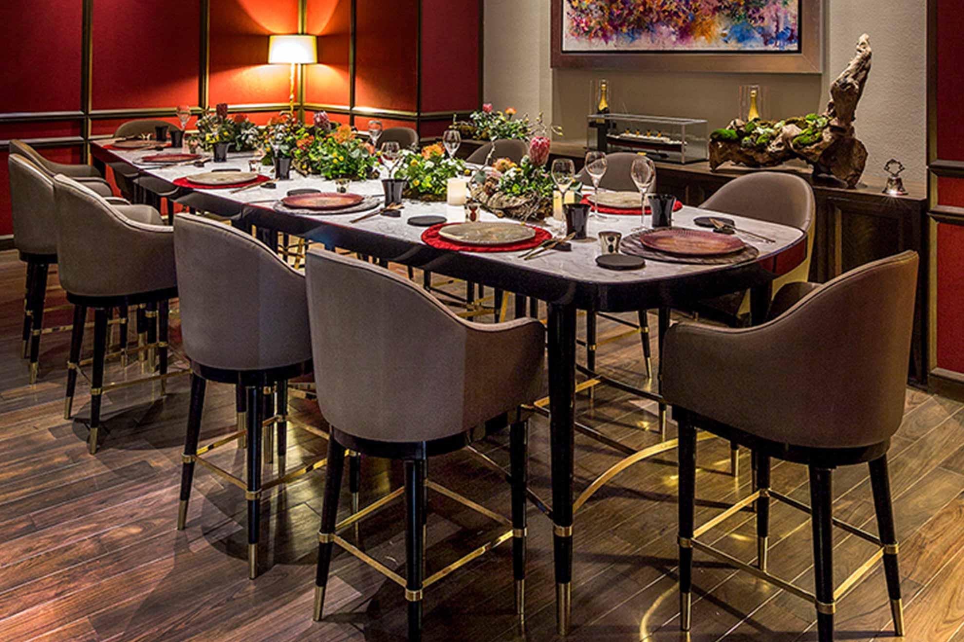 La Table Krug, espacio exclusivo diseñado para 12 comensales ubicado en Hotel St. Regis México