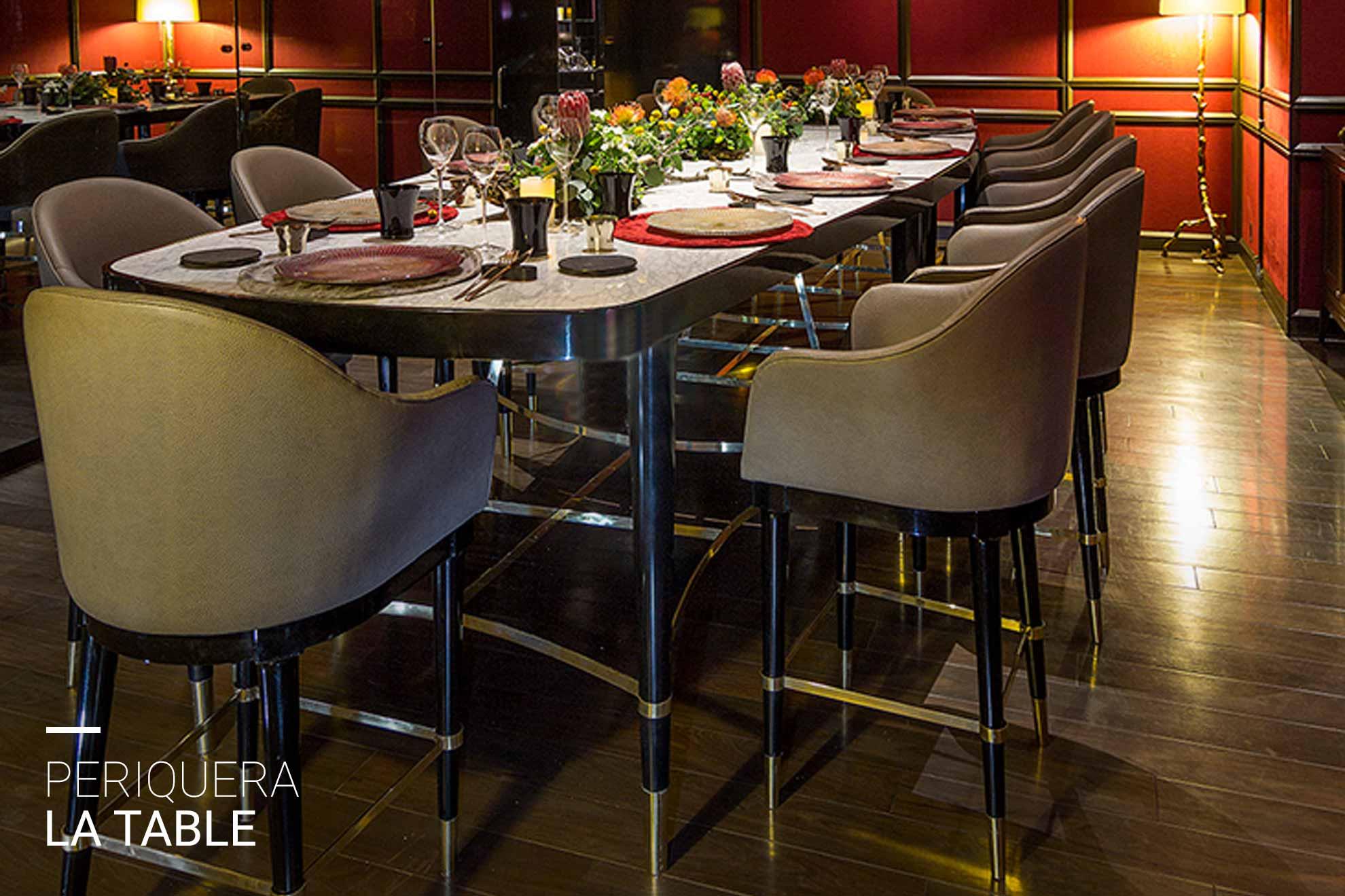 Muebles de diseño creados por Depa 102 para St.Regis México.