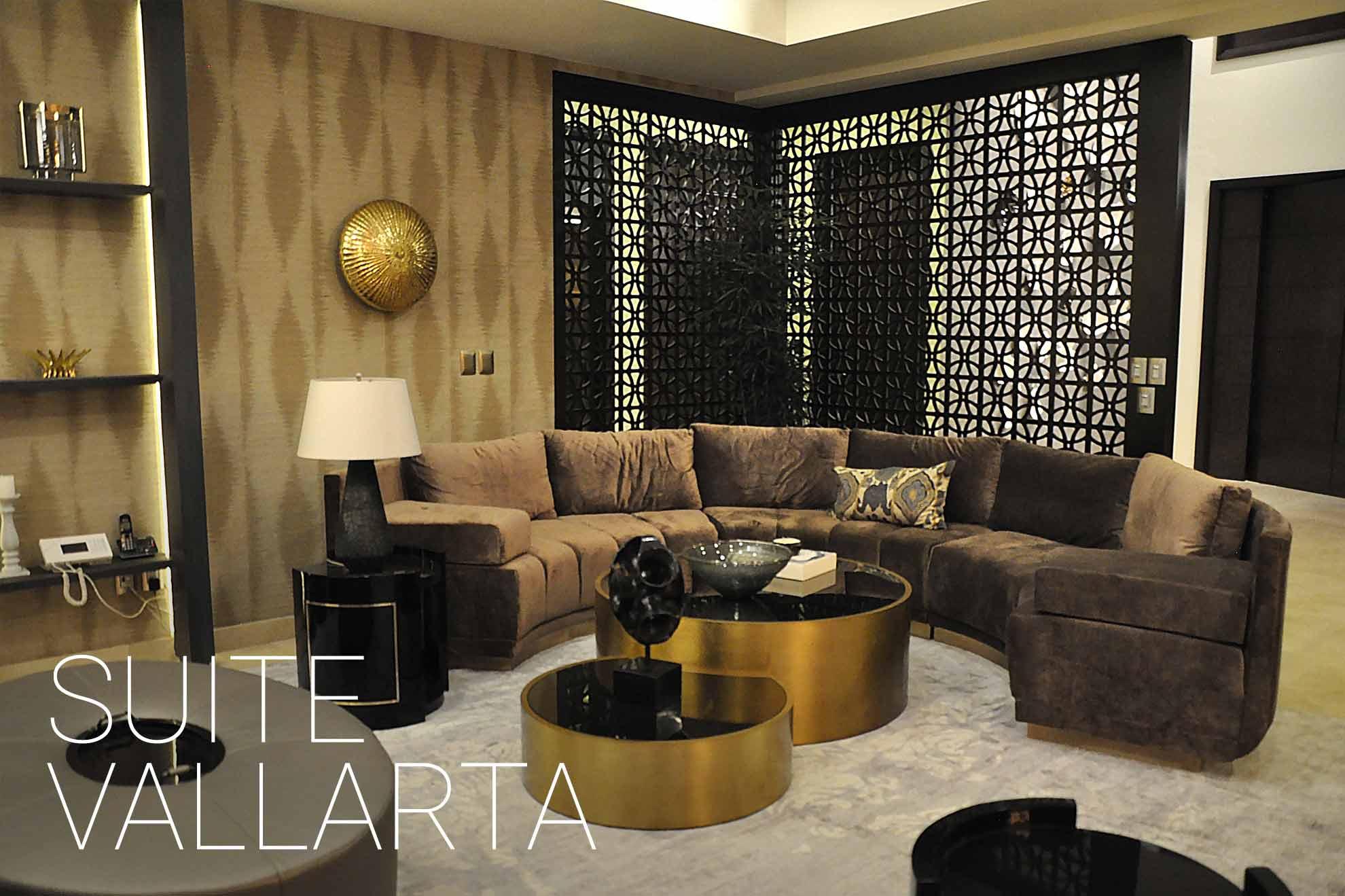 Diseño de interiores de suite en Puerto Vallarta