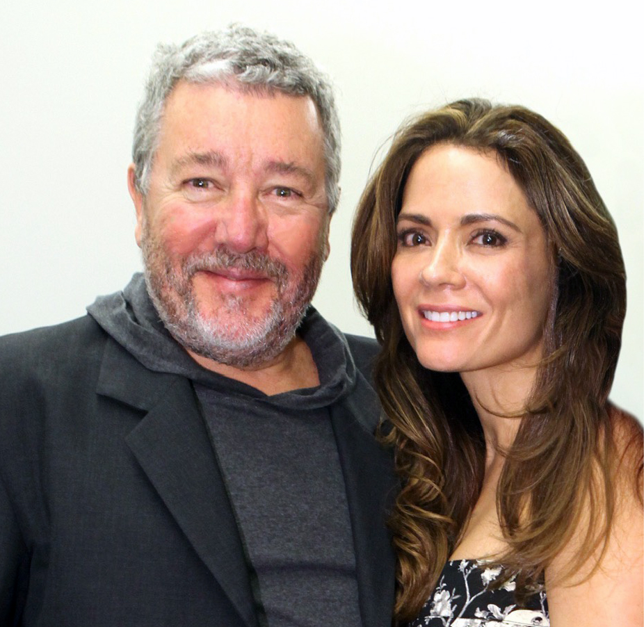 Jennifer y Philippe Starck